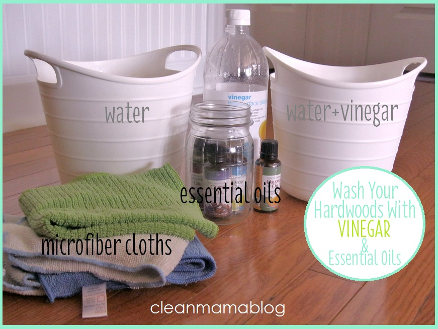 Clean Mama Update Washing Hardwood Floors With Vinegar