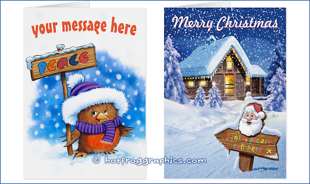 images of Christmas gifts from hotfroggraphics.com