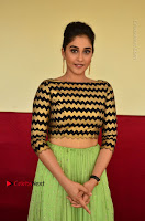 Actress Regina Candra Latest Pos in Green Long Skirt at Nakshatram Movie Teaser Launch  0140.JPG