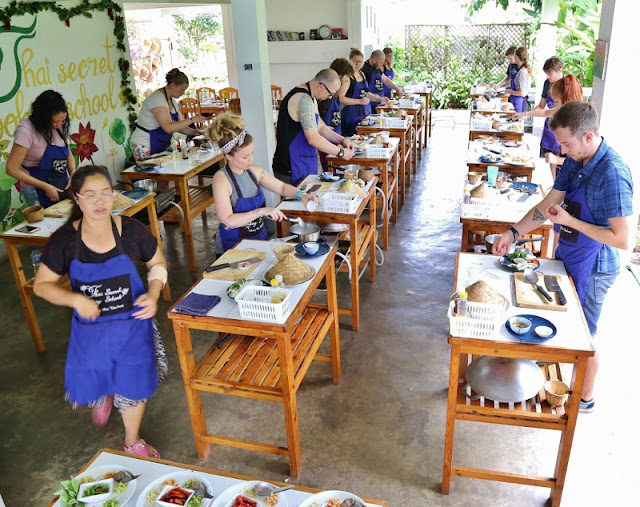 Thai Secret Cooking School & Organic Garden
