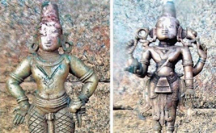 14th century bronze idols discovered