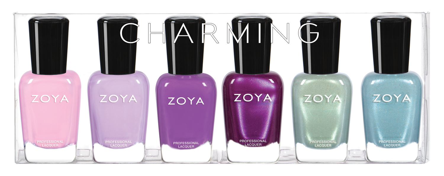 Lace and Lacquers: PRESS RELEASE: Zoya Spring 2017 Charming Polish ...