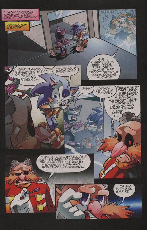 Read online Sonic The Hedgehog comic -  Issue #209 - 11