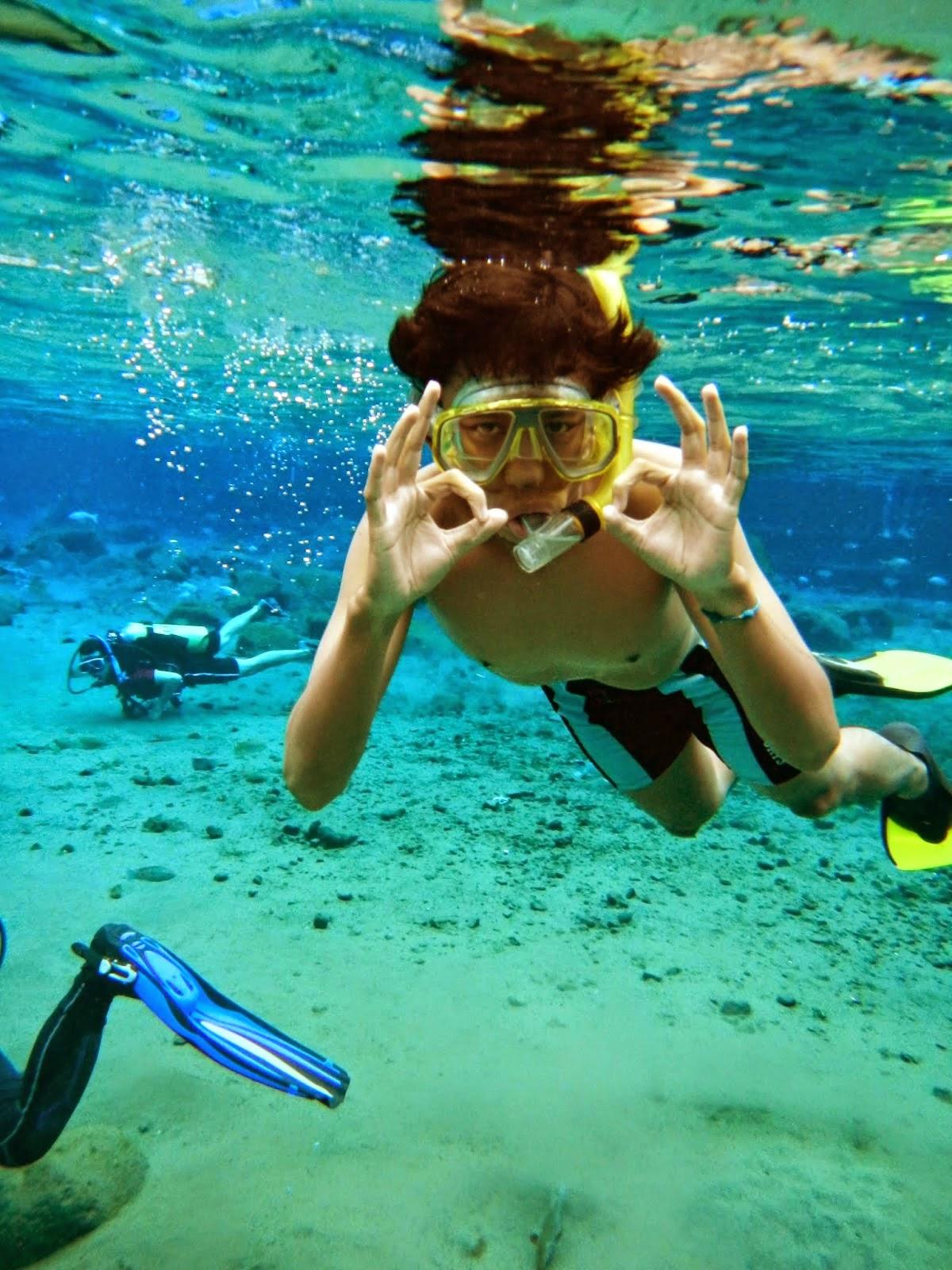 Ayo Snorkeling ke Wisata Umbul Ponggok Klaten