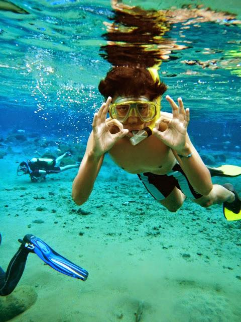 Snorkeling ke Wisata Umbul Ponggok Klaten Tempat Wisata Terbaik Yang Ada Di Indonesia: Ayo Snorkeling ke Wisata Umbul Ponggok Klaten