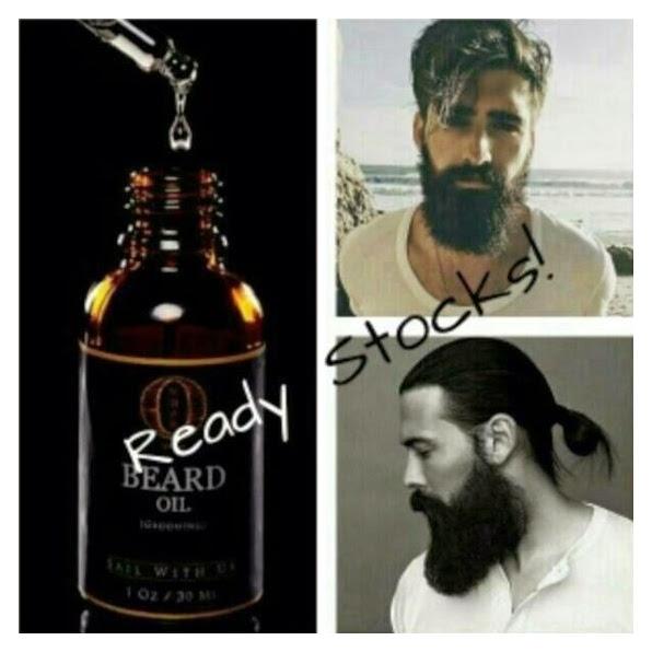 OMBAK BEARDS OIL Produk yg dapat membuat kumis, janggut dan jambang anda tumbuh lebih lebat dengan merangsang hormon pertumbuhan bulu rambut  bulu brewok