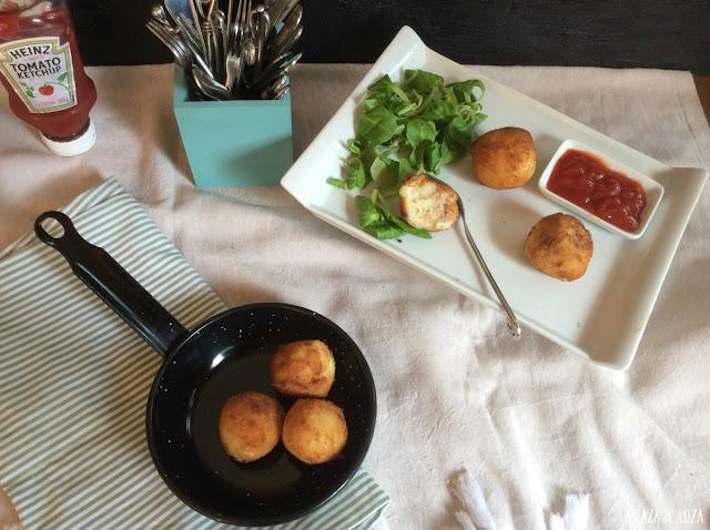 bolitas-de-atún-y-puré-de-patatas