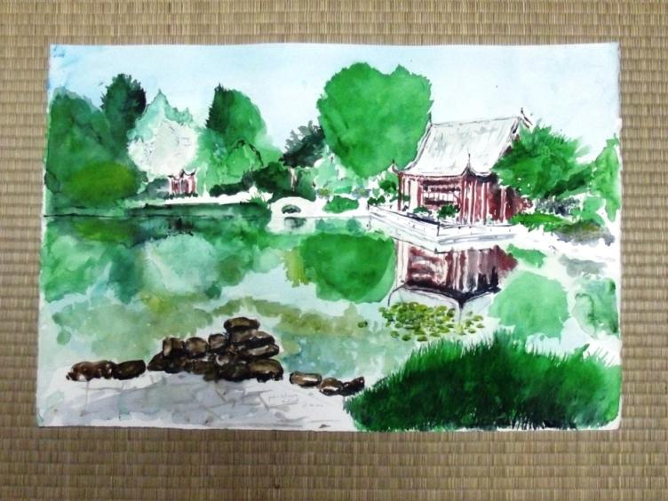 Aquaryoga zen absolu jardin chinois en hommage val rie for Jardin chinois zen