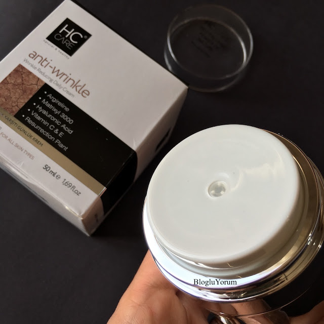 HC anti wrinkle krem kırışıklık karşıtı bakım kremi 2
