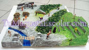 Maqueta Escolar Sociedad Inca