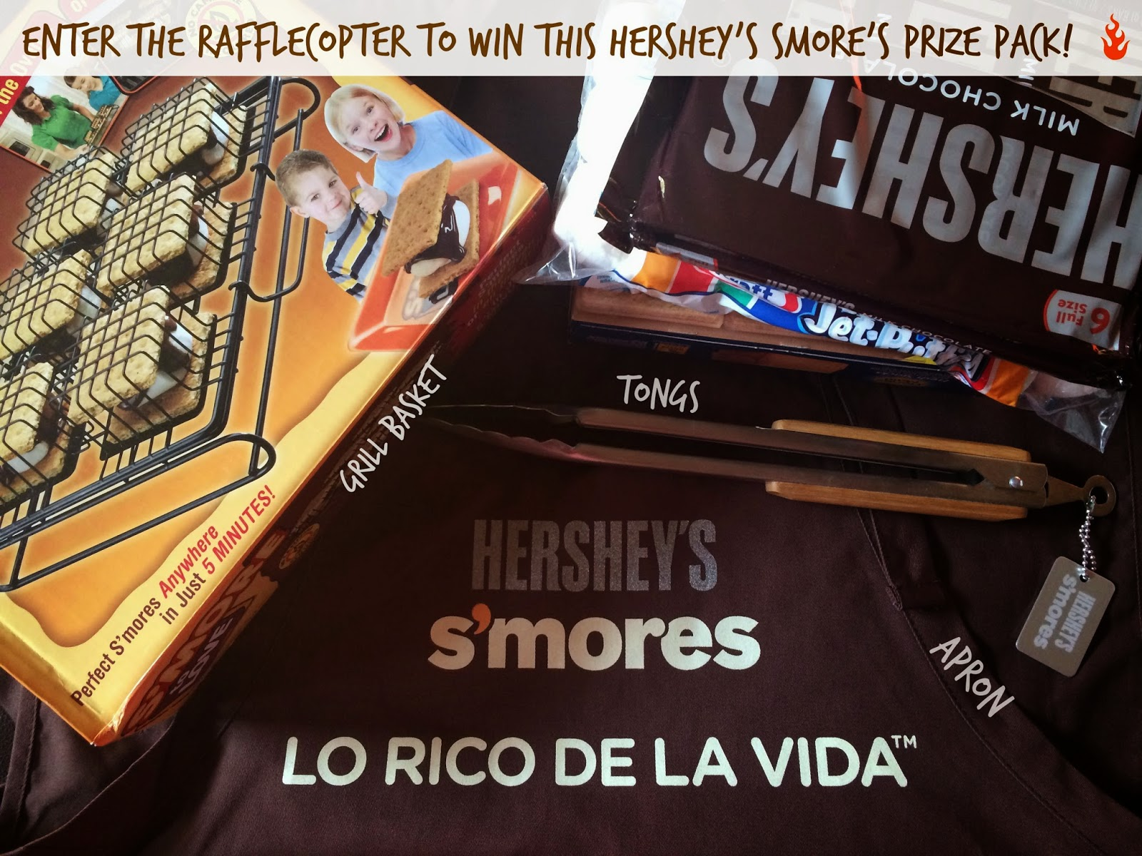 #VeranoHersheys S'more Prize Pack Giveaway
