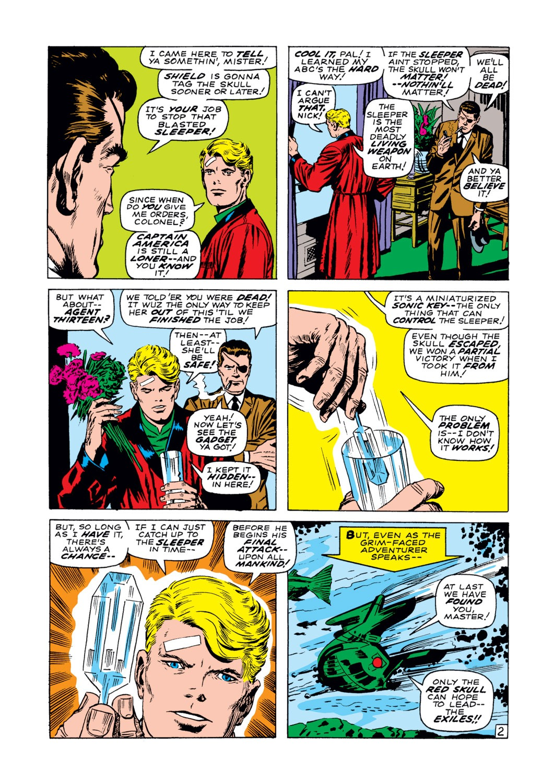 Read online Captain America (1968) comic -  Issue #102 - 3