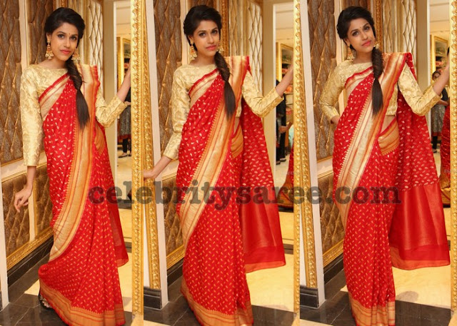 Apoorva Rao Printed Silk Saree