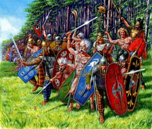 Painting Gallic & Celtic Warband picture 2