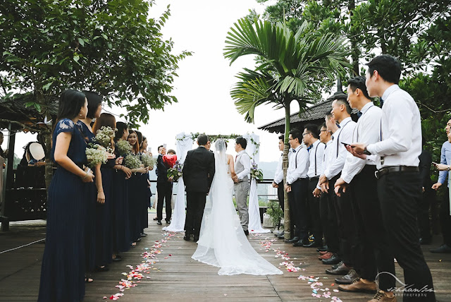 outdoor wedding on deck wedding malaysia