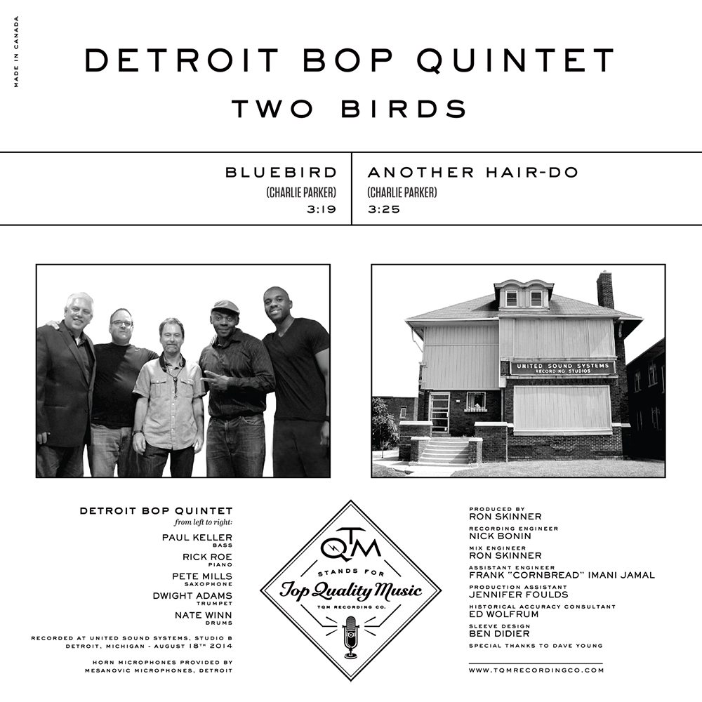 Republic Of Jazz Apr 17 2018 Owen Brown Top Leux Studio Two Birds Will Be Ocially Released Worldwide On Friday April 20th