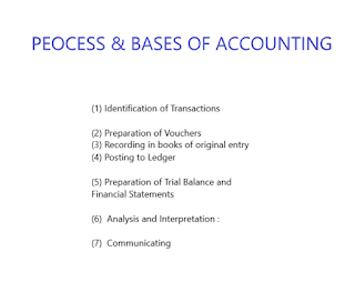 Process and Bases of Accounting - simple analysis