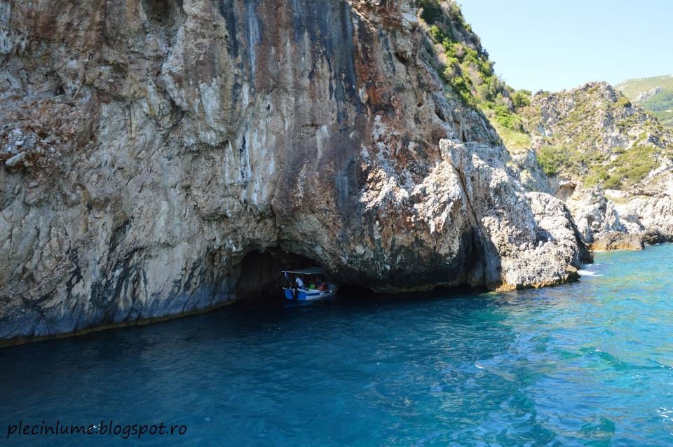 Excursie la pesterile din Paleokastrita, Corfu