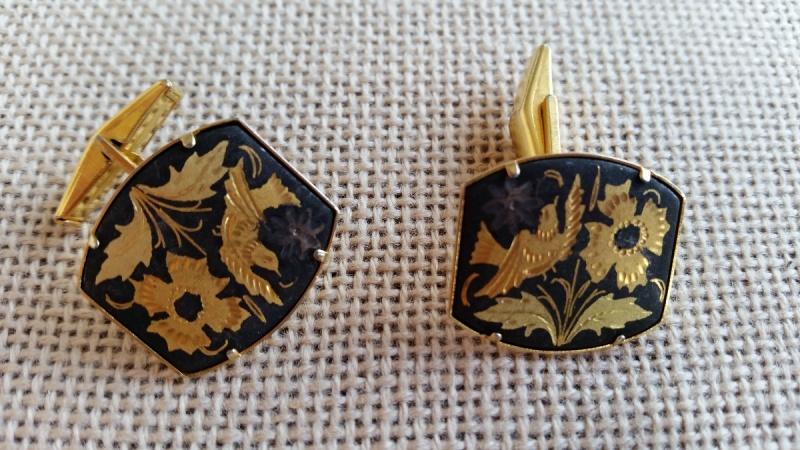 męskie spinki do mankietów retro vintage unikatow biżuteria netstylistka