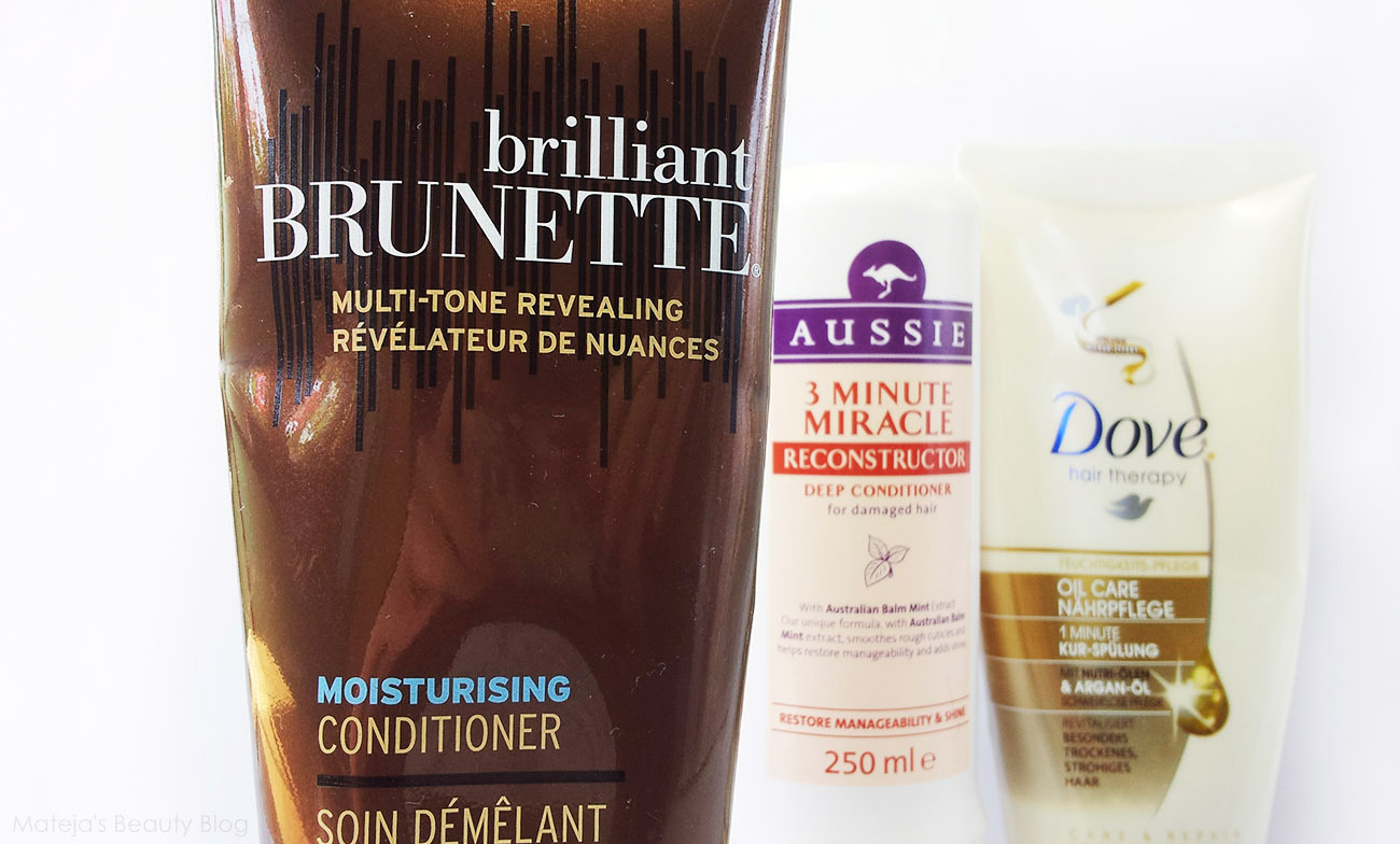Top 5 Drugstore Conditioners - Mateja's Beauty Blog