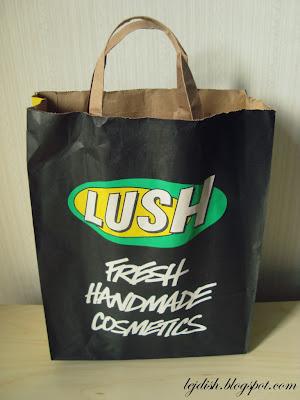 szwedzkie zakupy: Lush i H&M