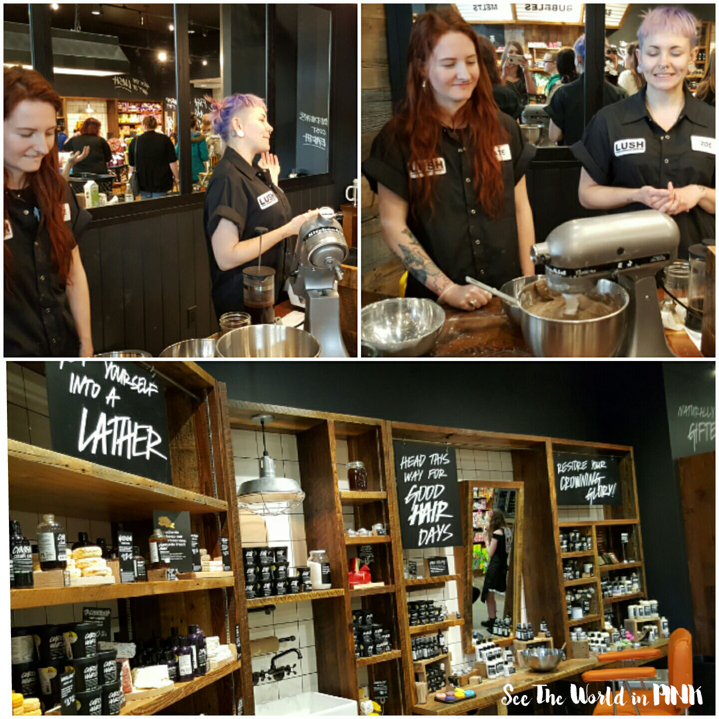Lush Grand Opening Party - Chinook Mall, Calgary Event