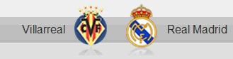 Villarreal and Real Madrid shields