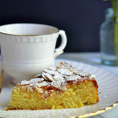 Flourless Almond Cake Recipe