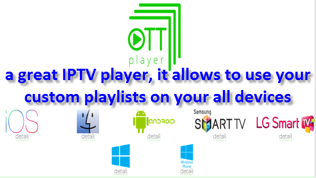 THE BEST IPTV PLAYER APPS FOR WINDOWS , IOS , ANDROID , ROKU