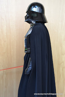 hot toys darth vader left side
