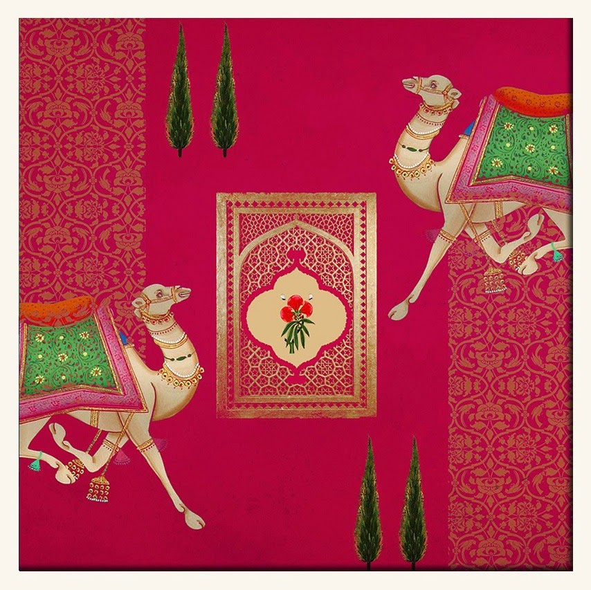 The East Coast Desi India Circus Wall Art Collection