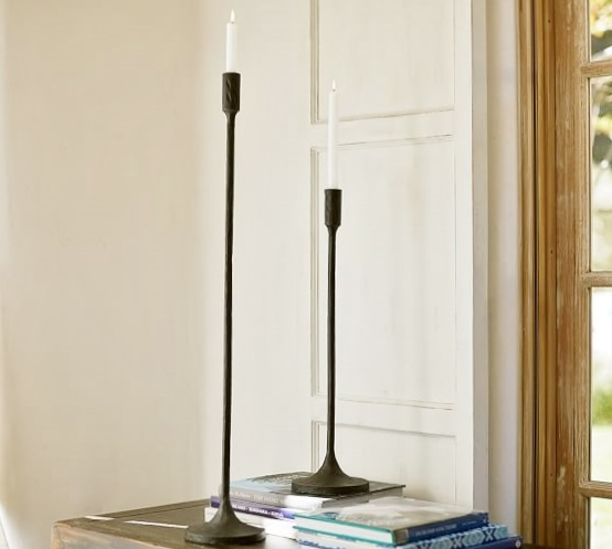 The look for less pottery barn inspired candle holders