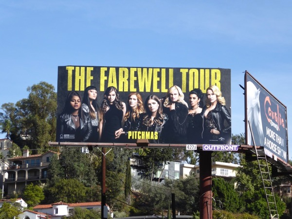 Pitch Perfect 3 billboard