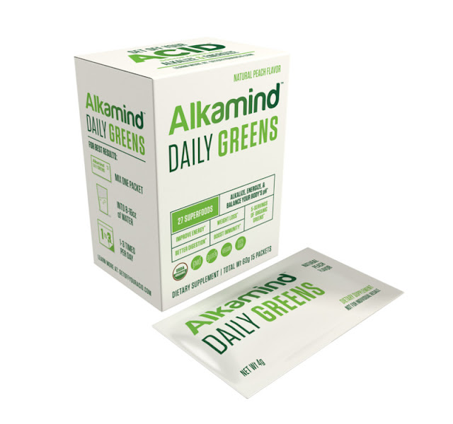 Alkamind Daily Greens to Get Energized