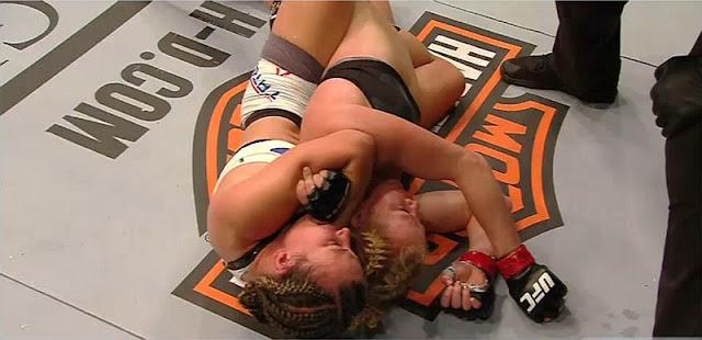 Miesha Tate defeats Holly Holm at UFC 196