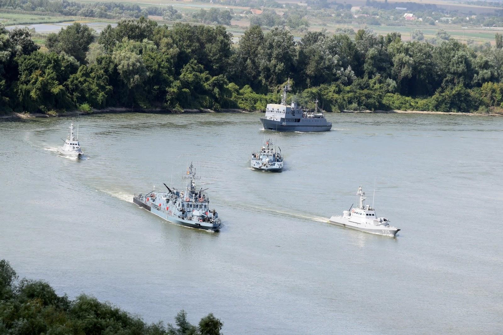 українсько-румунське навчання на Дунаї