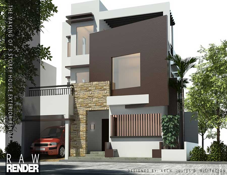 Cara setting render vray sketchup exterior 3d max tutorials - Exterior rendering in 3ds max with vray ...