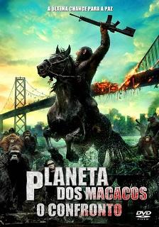 Planeta dos Macacos – O Confronto (2014) Bluray 720p 1080p Dual Áudio – Torrent Download