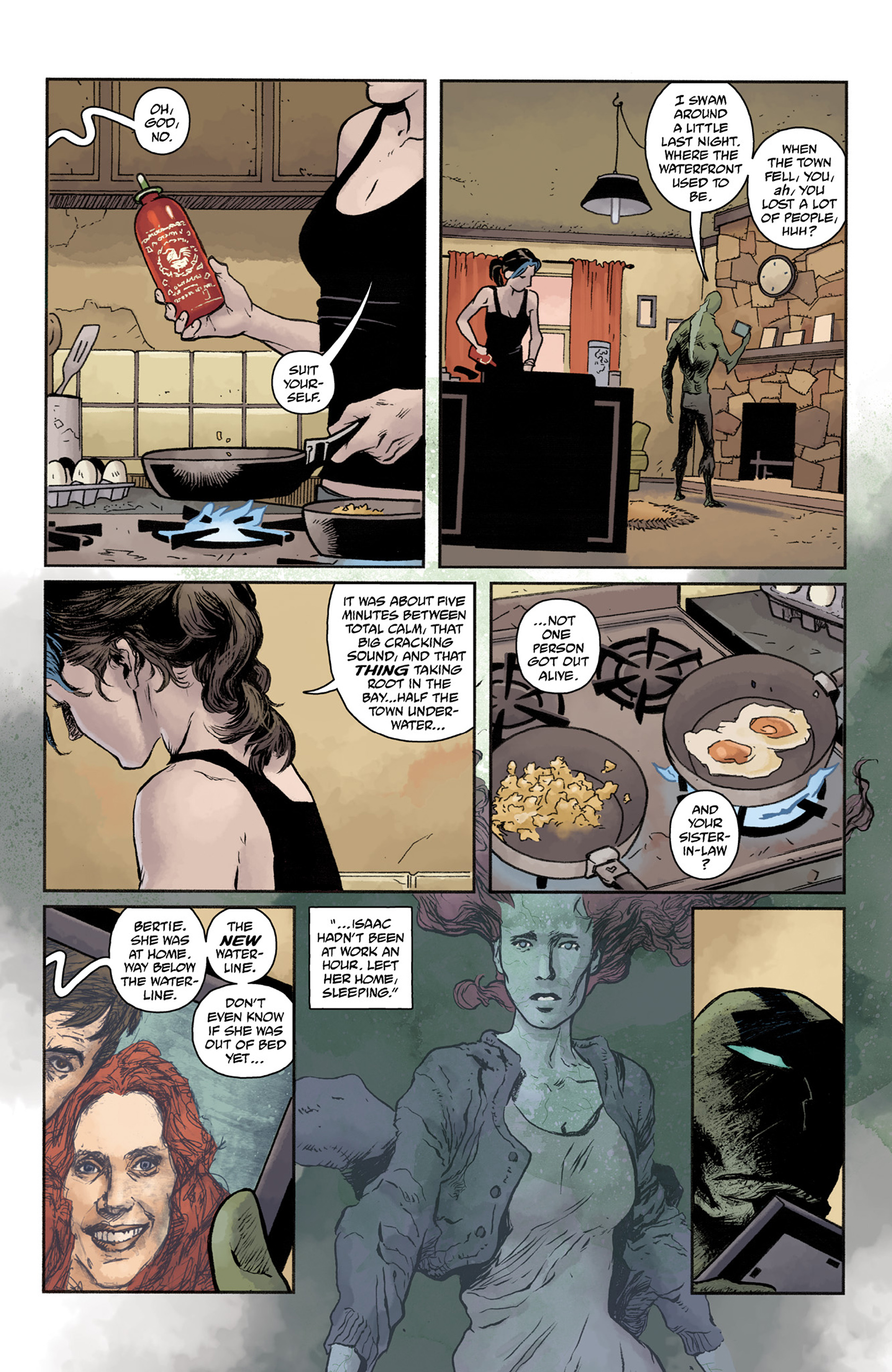 Read online Abe Sapien comic -  Issue #25 - 4