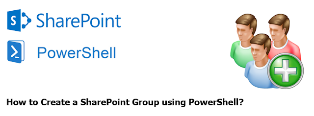create a SharePoint group powershell