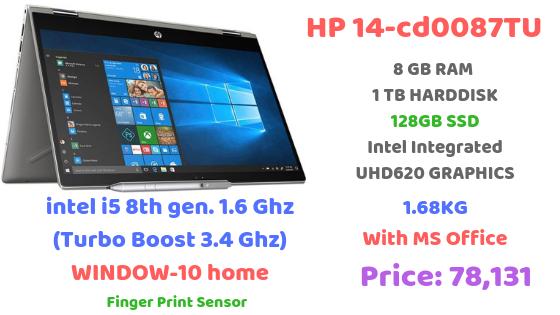 HP Pavilion x360 14-cd0087TU