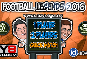 Jugar Football Legends 2016