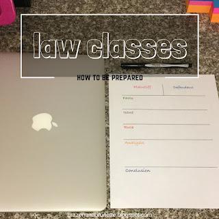 what class is like | brazenandbrunette.com