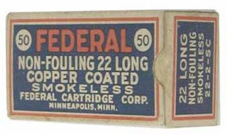Federal Non Fouling .22 Ammo Vintage Box