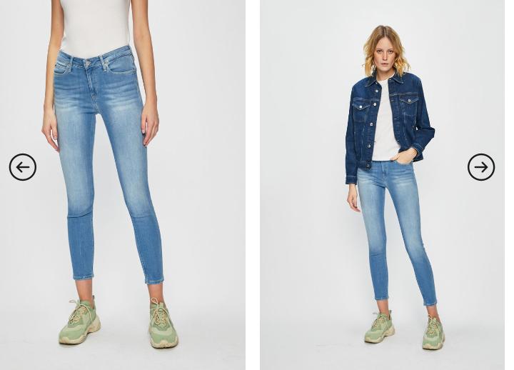 Blugi dama originali Calvin Klein Jeans - Jeansi CKJ 011