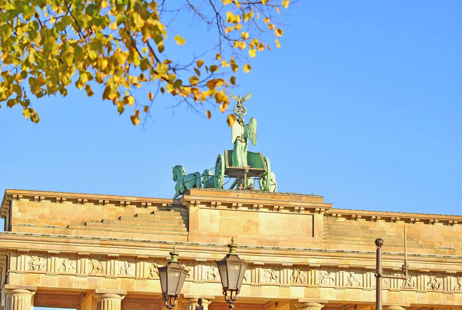 De Brandenburger Tor - het symbool van een verenigd Duitsland.