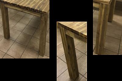 chân bàn gỗ Tràm ghép Thanh