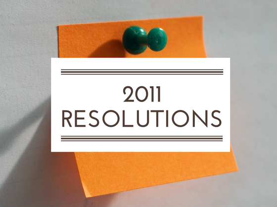 2011 resolutions review