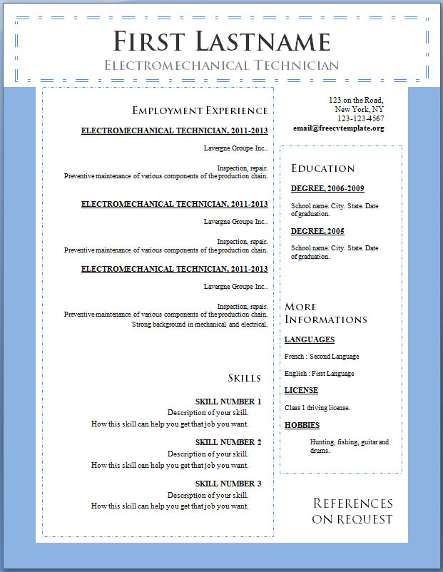 free resume templates download for microsoft word wordpad functional online template the only one ever need