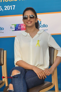 Actress Rakul Preet Singh at Endometriosis Awareness Walk at Apollo Cradle  0082.jpg